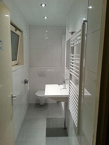 Renovatie kleine badkamer - BeterBert klusbedrijf
