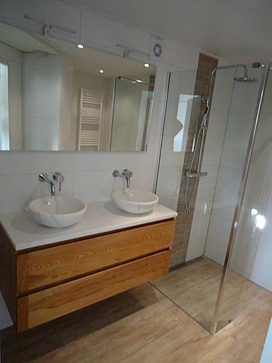 Renovatie badkamer (Keramisch parket) - BeterBert klusbedrijf