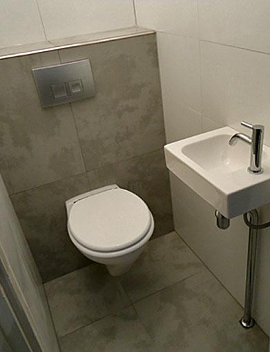 Gamma Keuken Installeren : Renovatie toilet BeterBert klusbedrijf